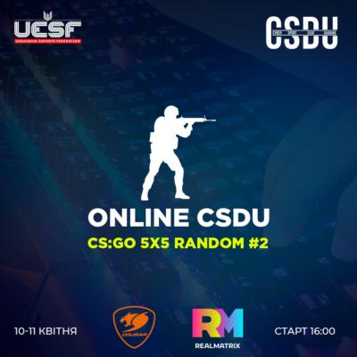 Онлайн-турнір з CS:GO 5×5 Random серед глухих