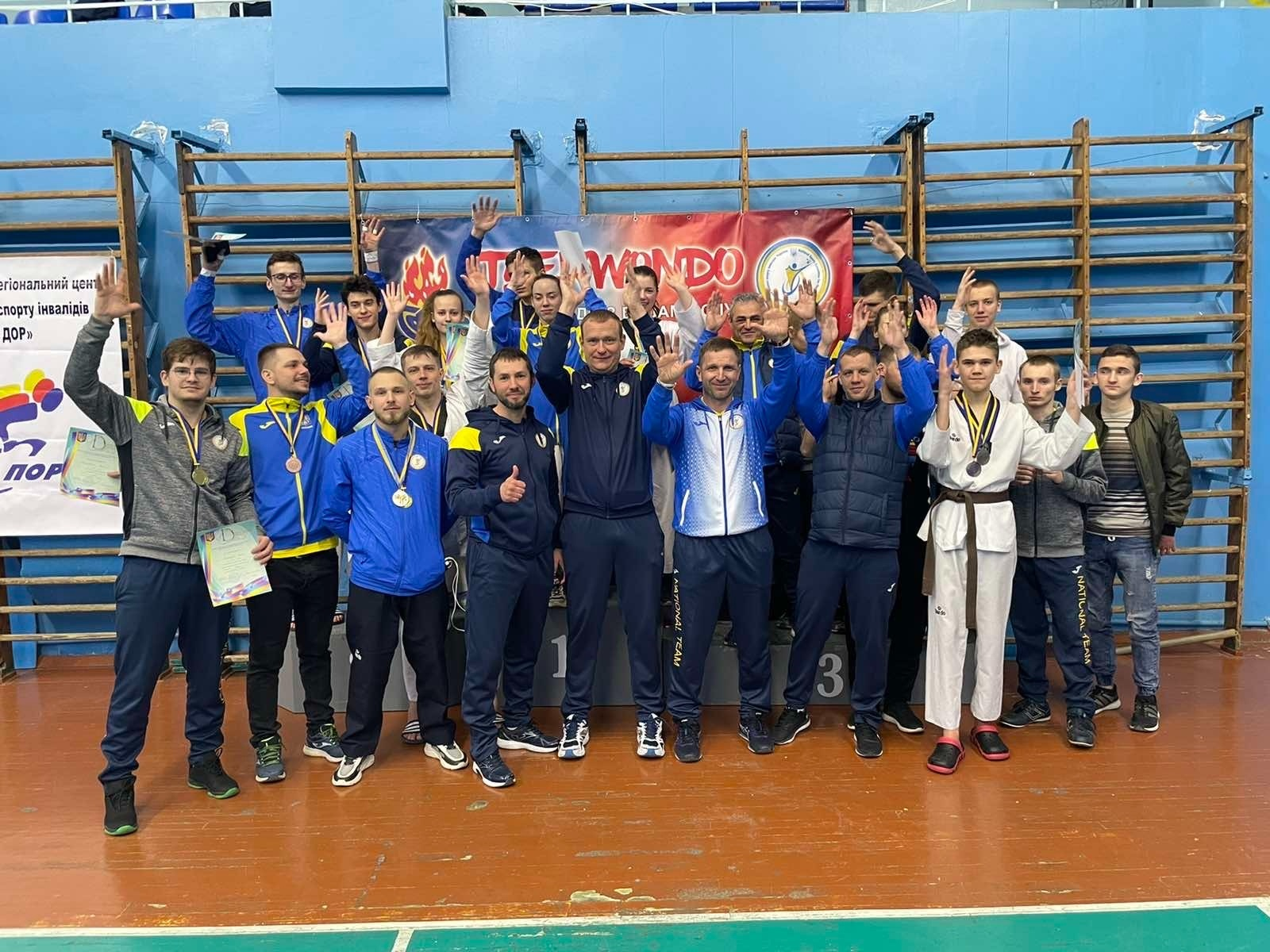 Результати чемпіонату України 2021 з тхеквондо серед глухих спортсменів
