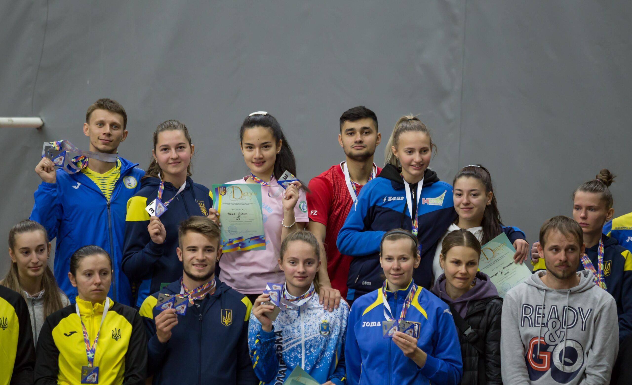Підсумки чемпіонату України 2021 з бадмінтону